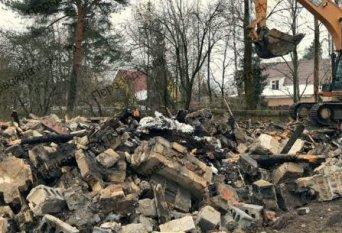 Демонтаж дома и фундамента в Селятино