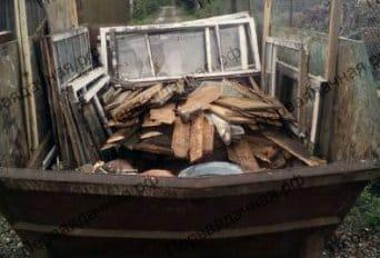 Демонтаж щитового дома в Толстопальцево